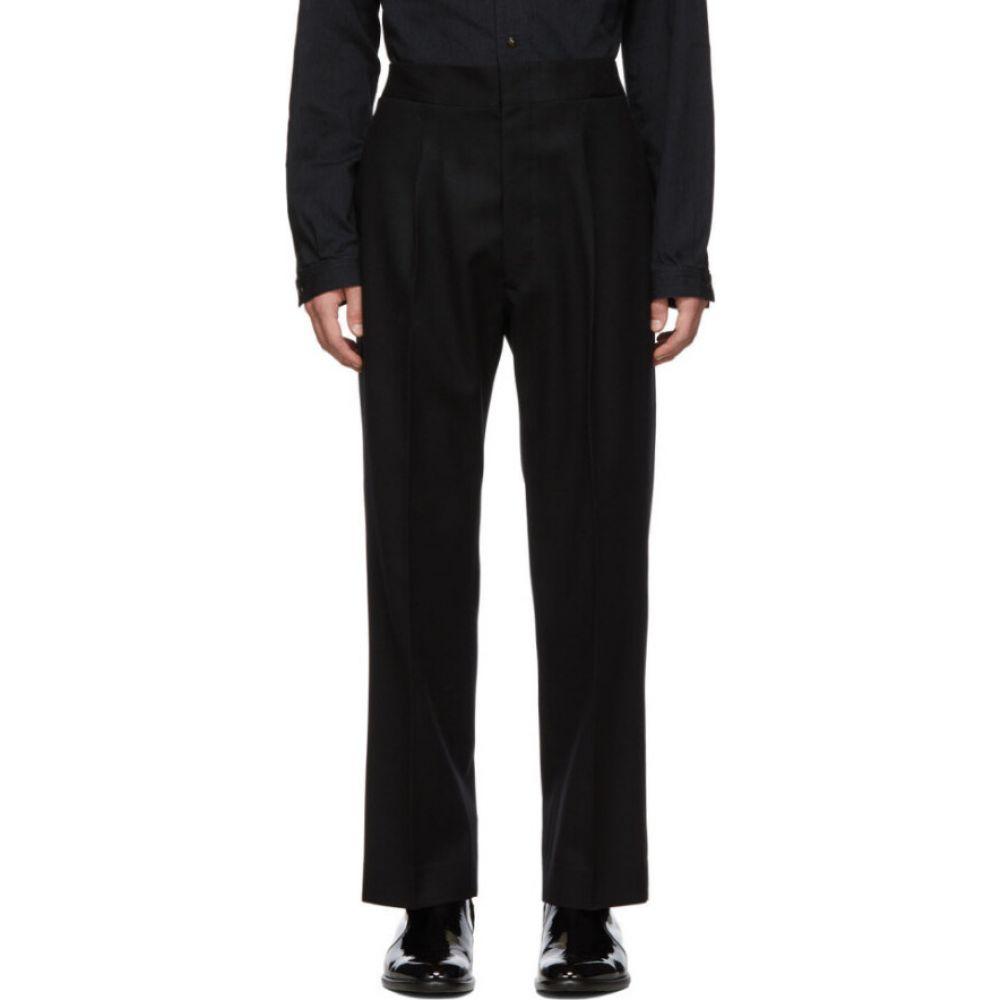 メゾン マルジェラ Maison Margiela メンズ スラックス ボトムス・パンツ【black wool flannel trousers】Black