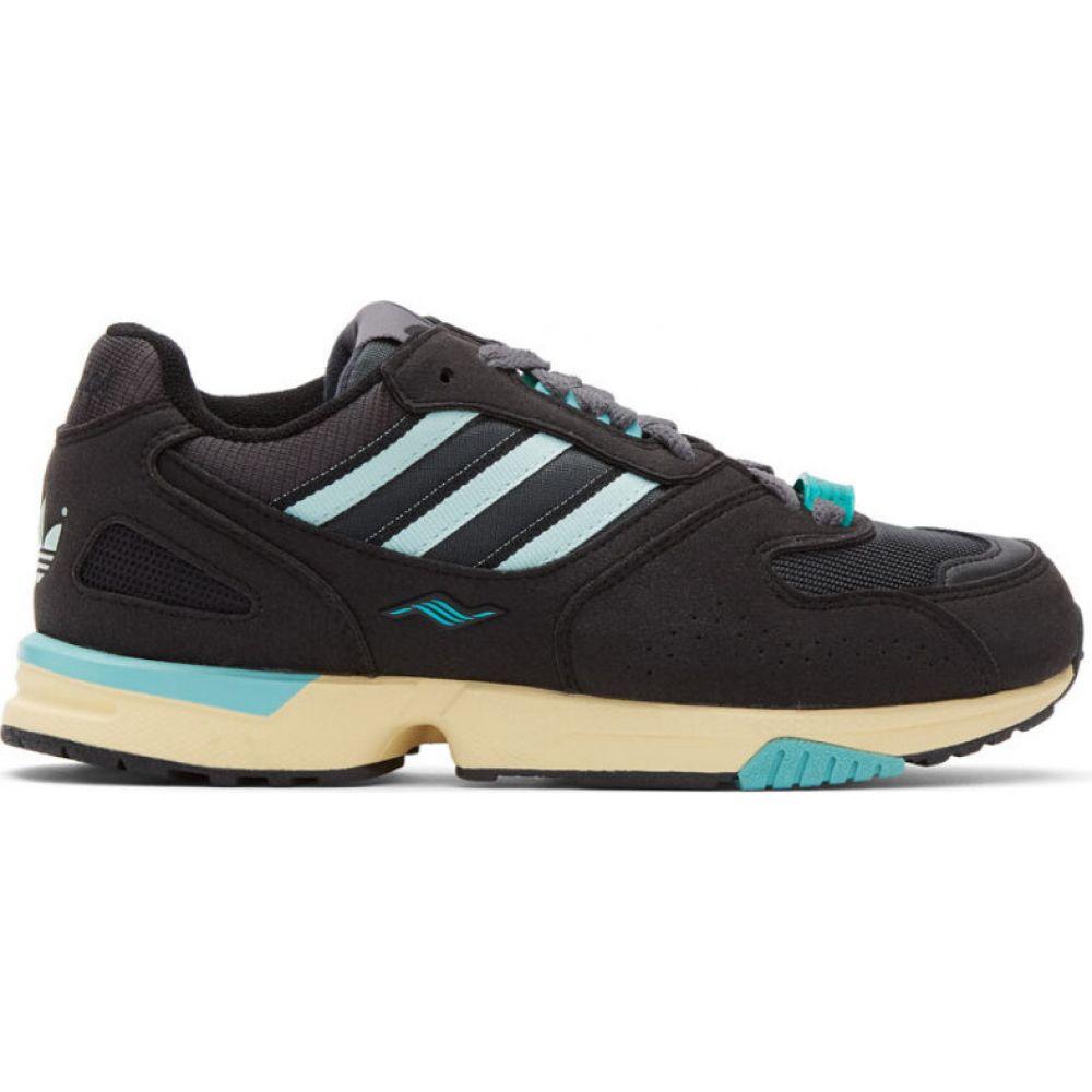 アディダス adidas Originals レディース スニーカー シューズ・靴【black zx 4000 sneakers】Core black/Ice mint/Carbon