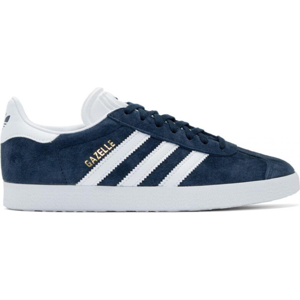 アディダス adidas Originals レディース スニーカー シューズ・靴【navy gazelle sneakers】Collegiate navy