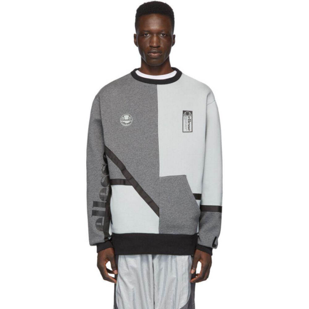 リアムホッジ Liam Hodges メンズ スウェット・トレーナー トップス【grey ellesse edition essere sweatshirt】Light grey