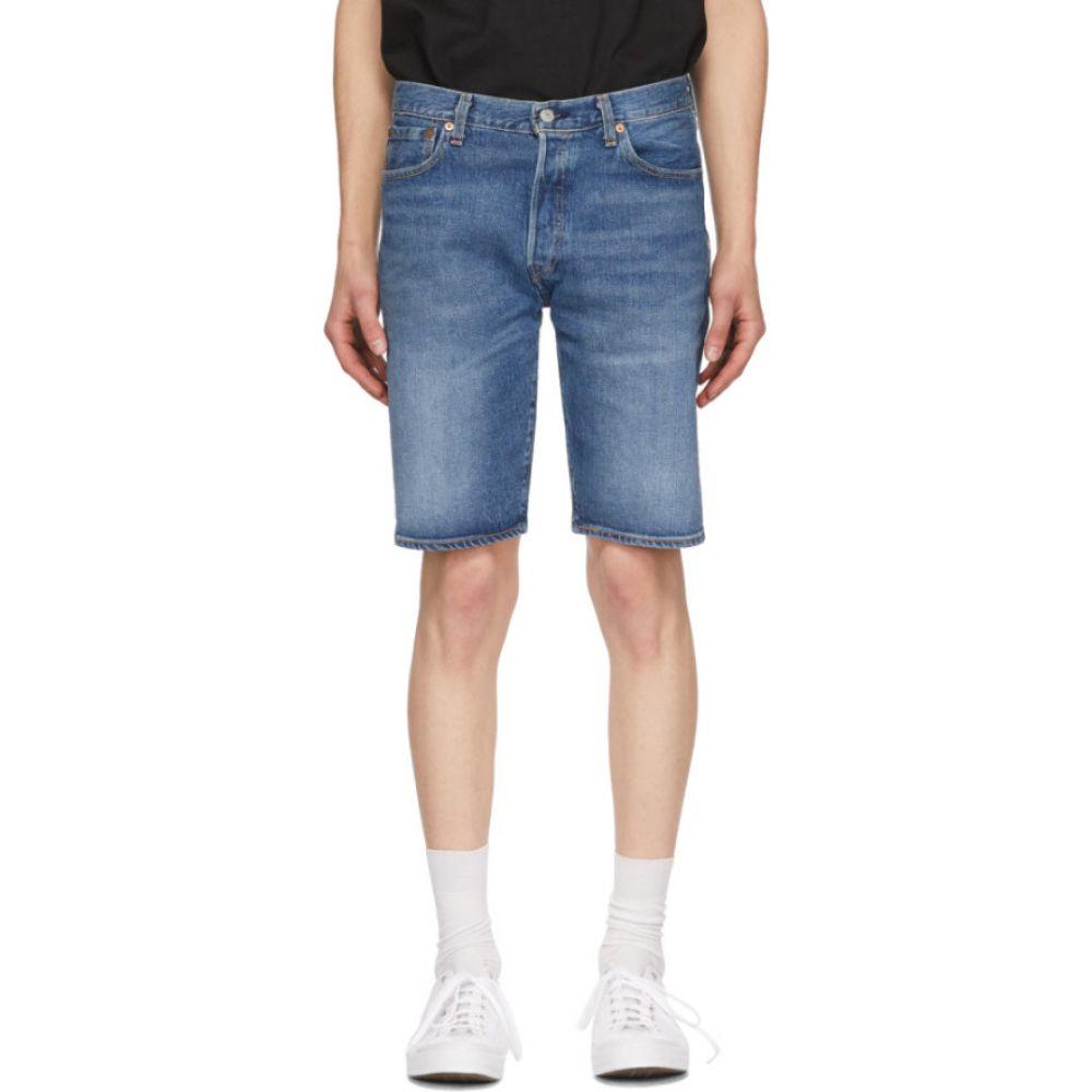 リーバイス Levi's メンズ ショートパンツ デニム ボトムス・パンツ【blue denim 501 hemmed shorts】Pate