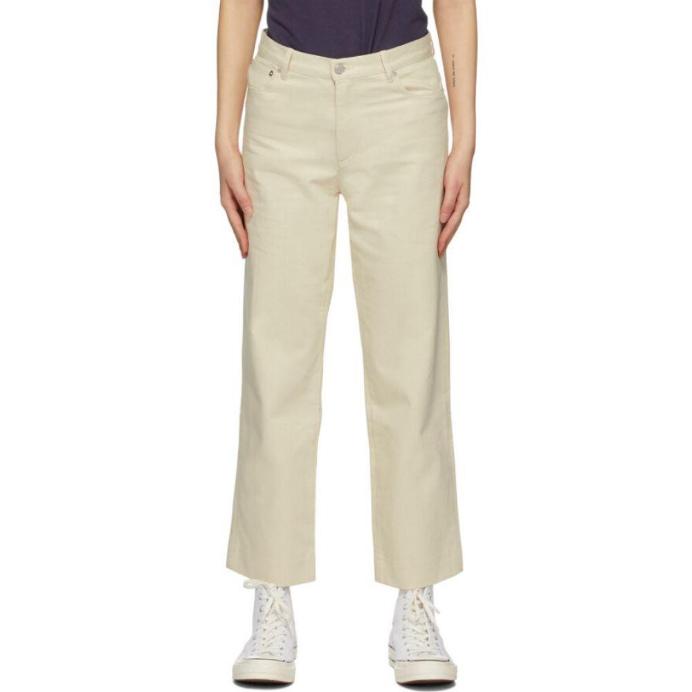 アーペーセー A.P.C. レディース ジーンズ・デニム ボトムス・パンツ【off-white new sailor jeans】Ecru