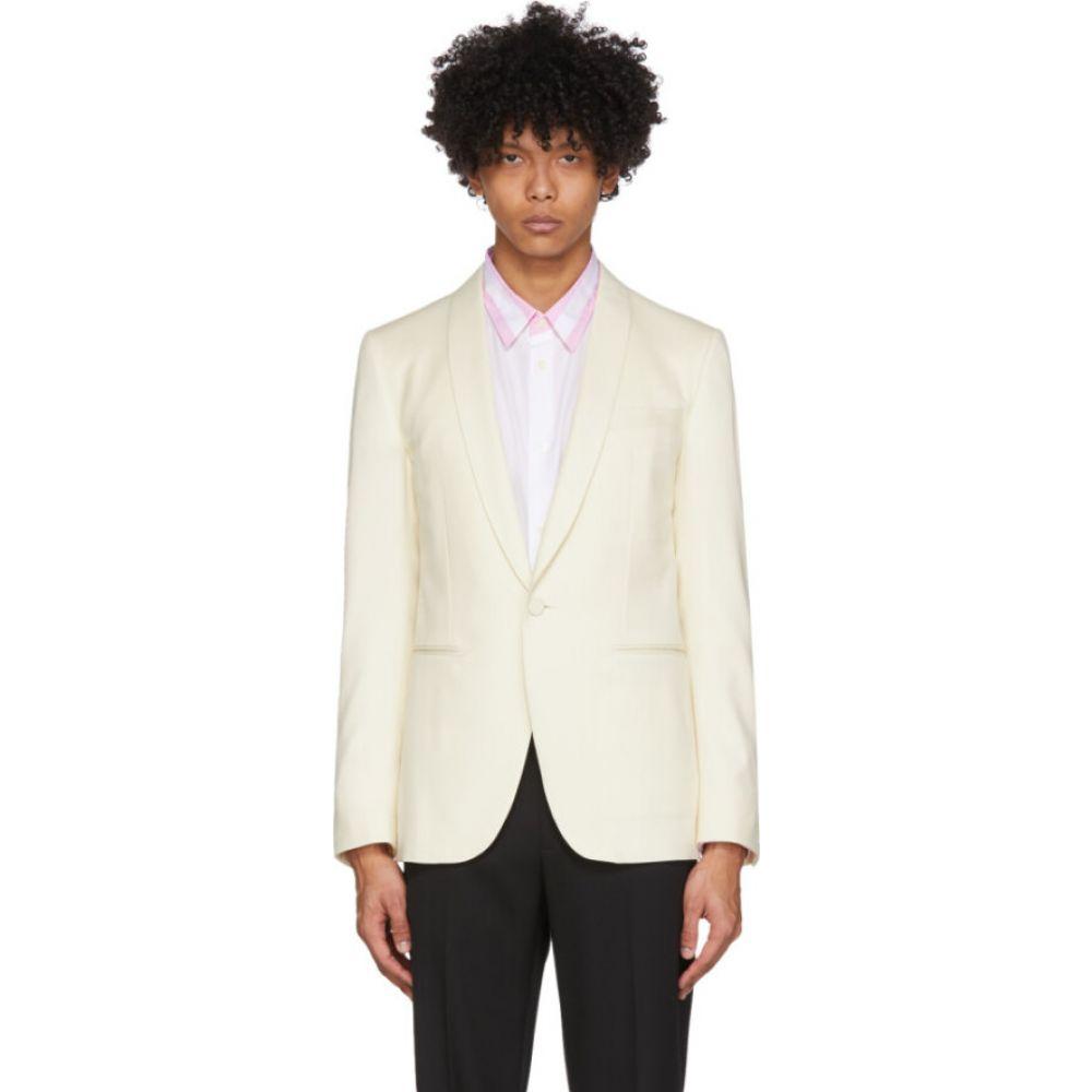 ランバン Lanvin メンズ スーツ・ジャケット アウター【white shawl collar blazer】White