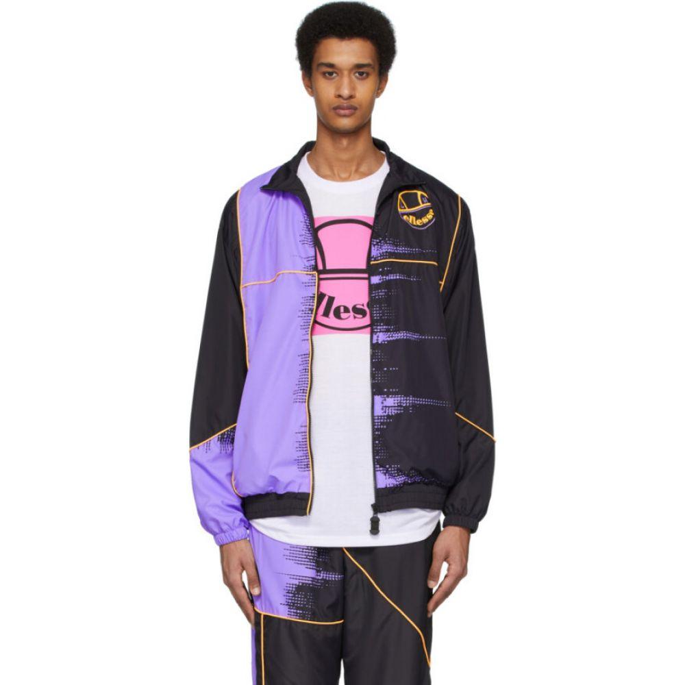 リアムホッジ Liam Hodges メンズ ジャケット アウター【black ellesse edition fade jacket】Black