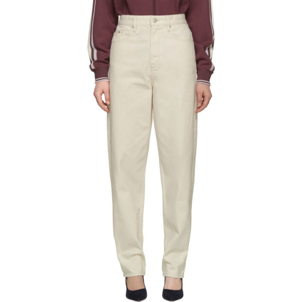 イザベル マラン Isabel Marant Etoile レディース ジーンズ・デニム ボトムス・パンツ【white oversize corsy jeans】
