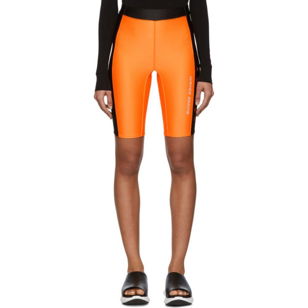 アンブッシュ Ambush レディース ショートパンツ ボトムス・パンツ【orange 'waves' surf shorts】Orange