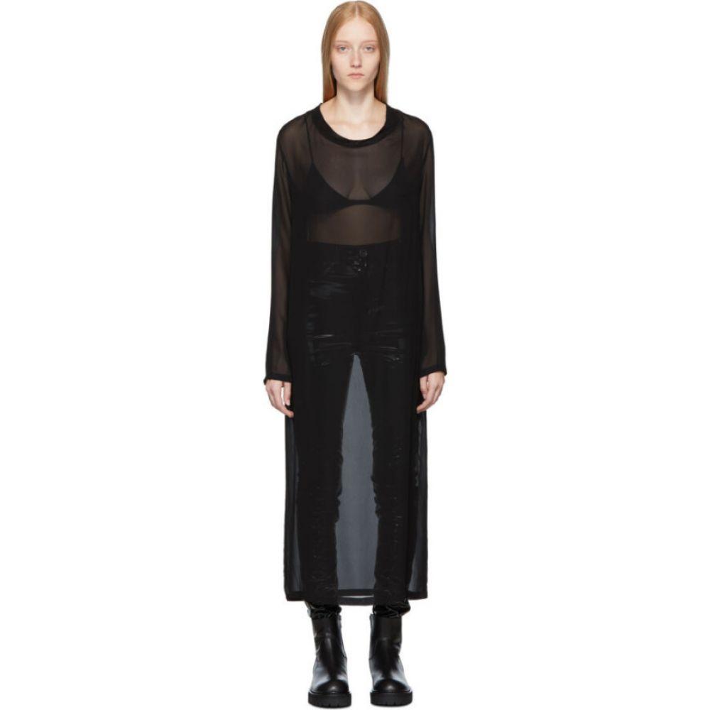 アンドゥムルメステール Ann Demeulemeester レディース ワンピース ワンピース・ドレス【black mclottie dress】Black
