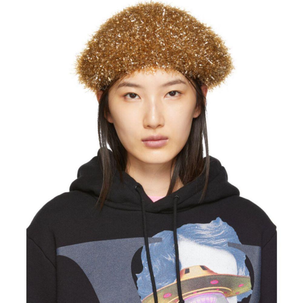 アンダーカバー Undercover レディース ニット ベレー帽 帽子【beige sparkle beret】Beige