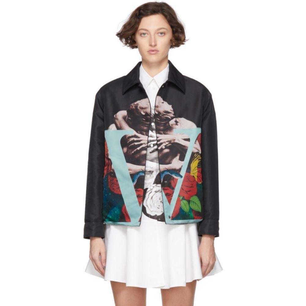 ヴァレンティノ Valentino レディース ジャケット アウター【black lovers jacket】Nero/Multi
