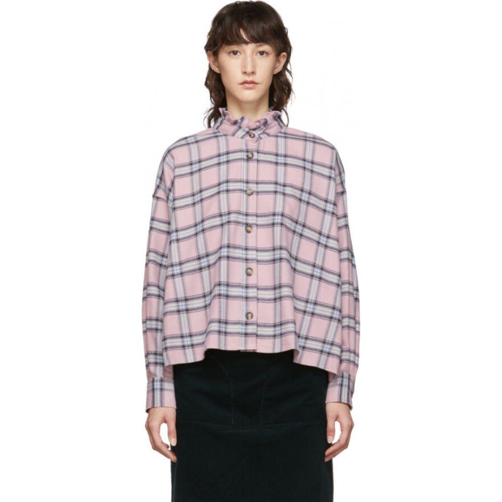 イザベル マラン Isabel Marant Etoile レディース ブラウス・シャツ トップス【pink check ilaria pilou shirt】Pink