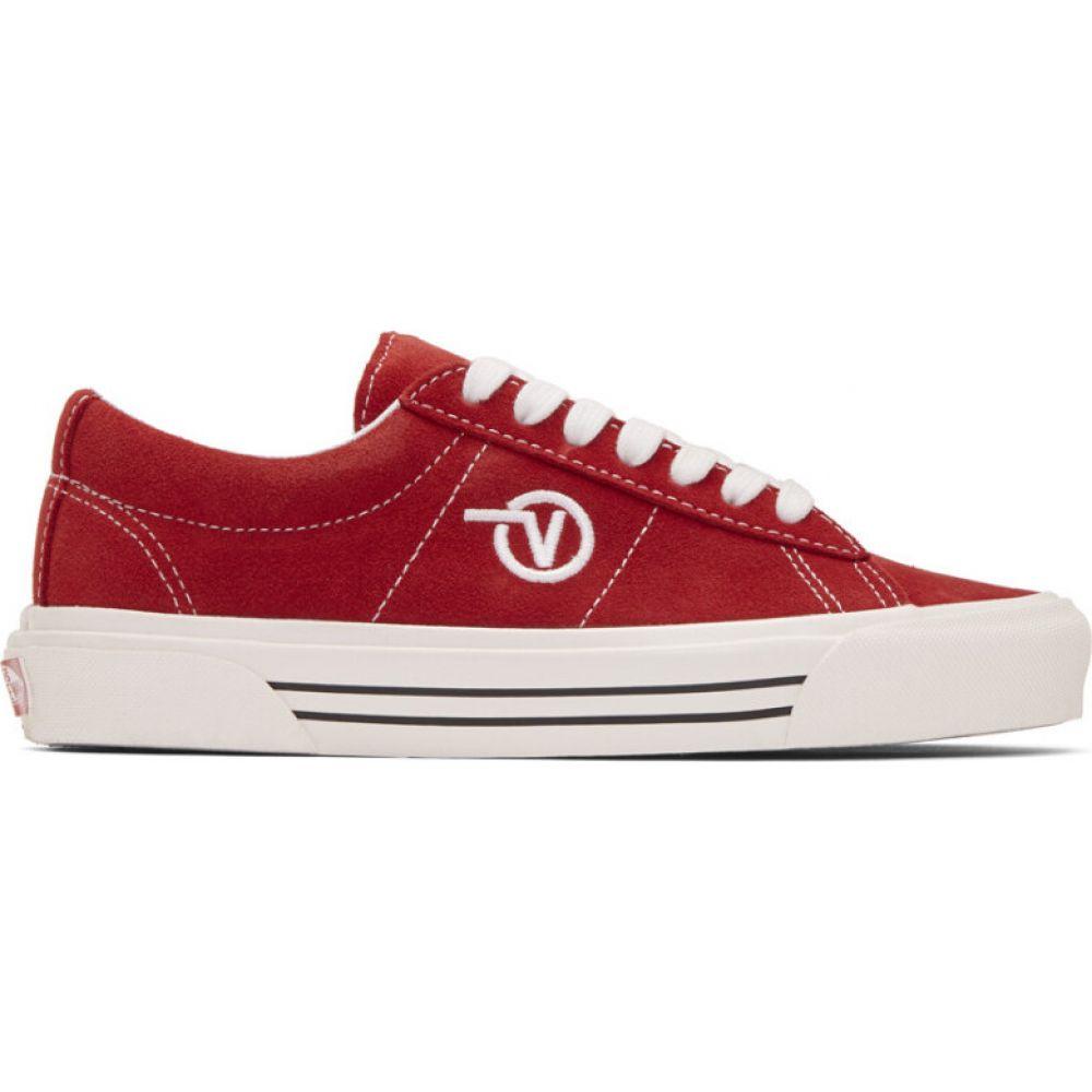 ヴァンズ Vans レディース スニーカー シューズ・靴【red anaheim factory sid dx sneakers】OG red
