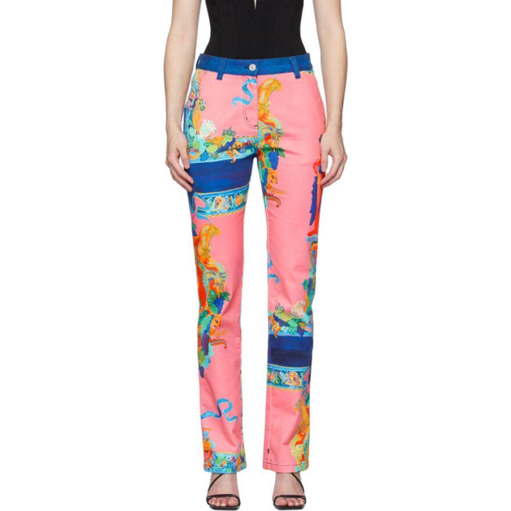 ヴェルサーチ Versace レディース ジーンズ・デニム ボトムス・パンツ【multicolor caravaggio print jeans】Print