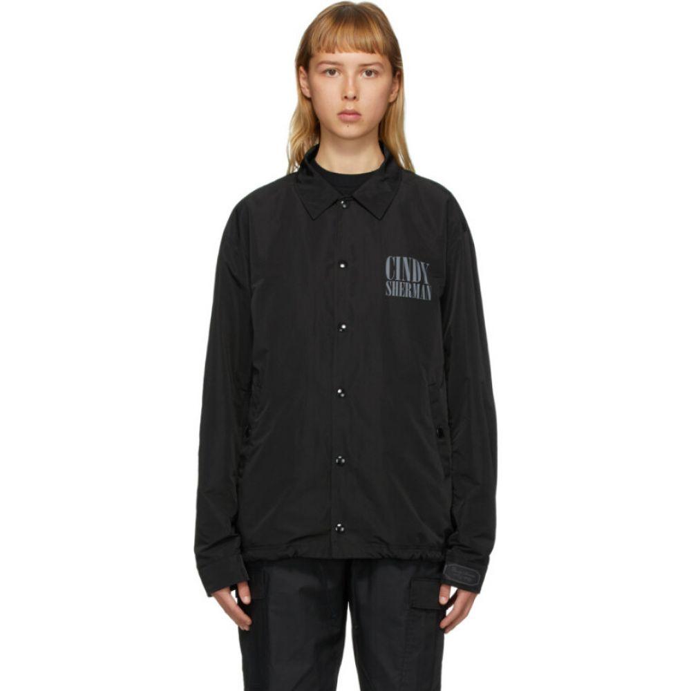 アンダーカバー Undercover レディース ジャケット コーチジャケット アウター【black cindy sherman edition portrait coach jacket】Black