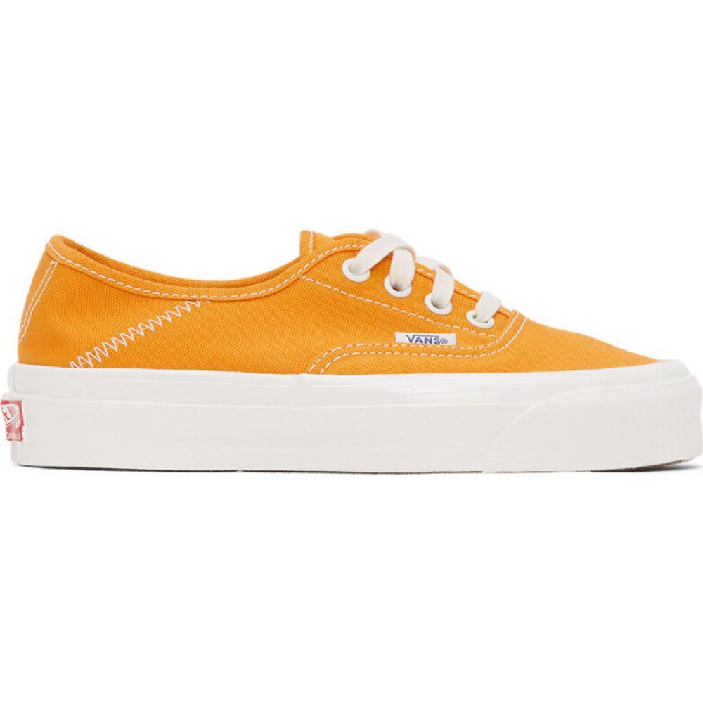 ヴァンズ Vans レディース スニーカー シューズ・靴【yellow og style 43 lx sneakers】Cadmium yellow