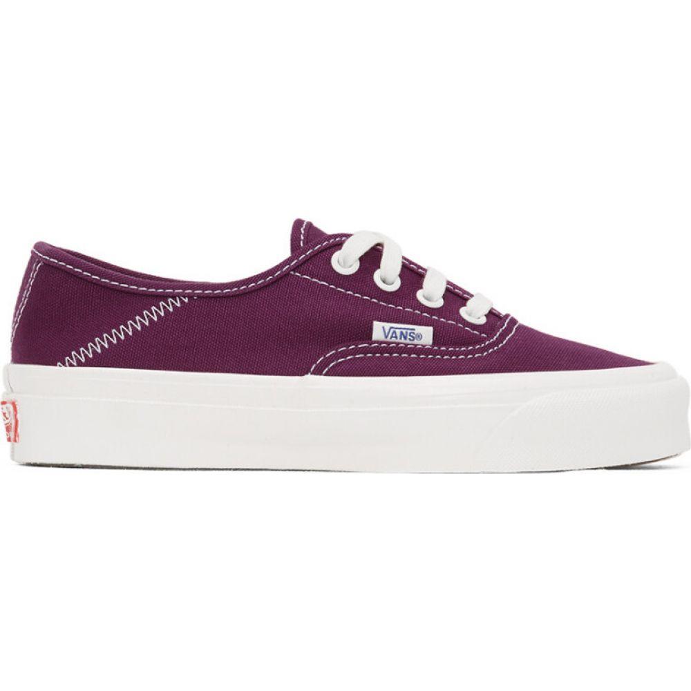 ヴァンズ Vans レディース スニーカー シューズ・靴【purple og style 43 lx sneakers】Dark purple