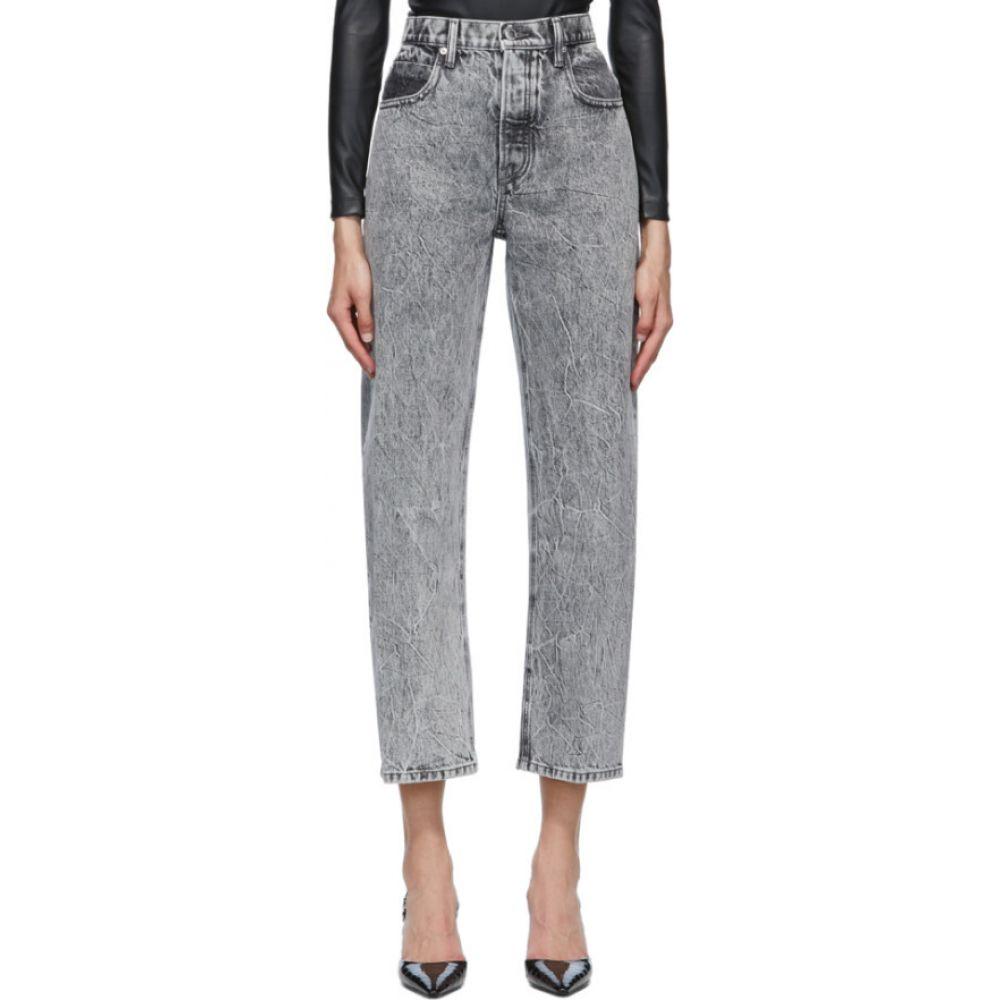 アレキサンダー ワン Alexander Wang レディース ジーンズ・デニム ボトムス・パンツ【grey curb jeans】Light grey
