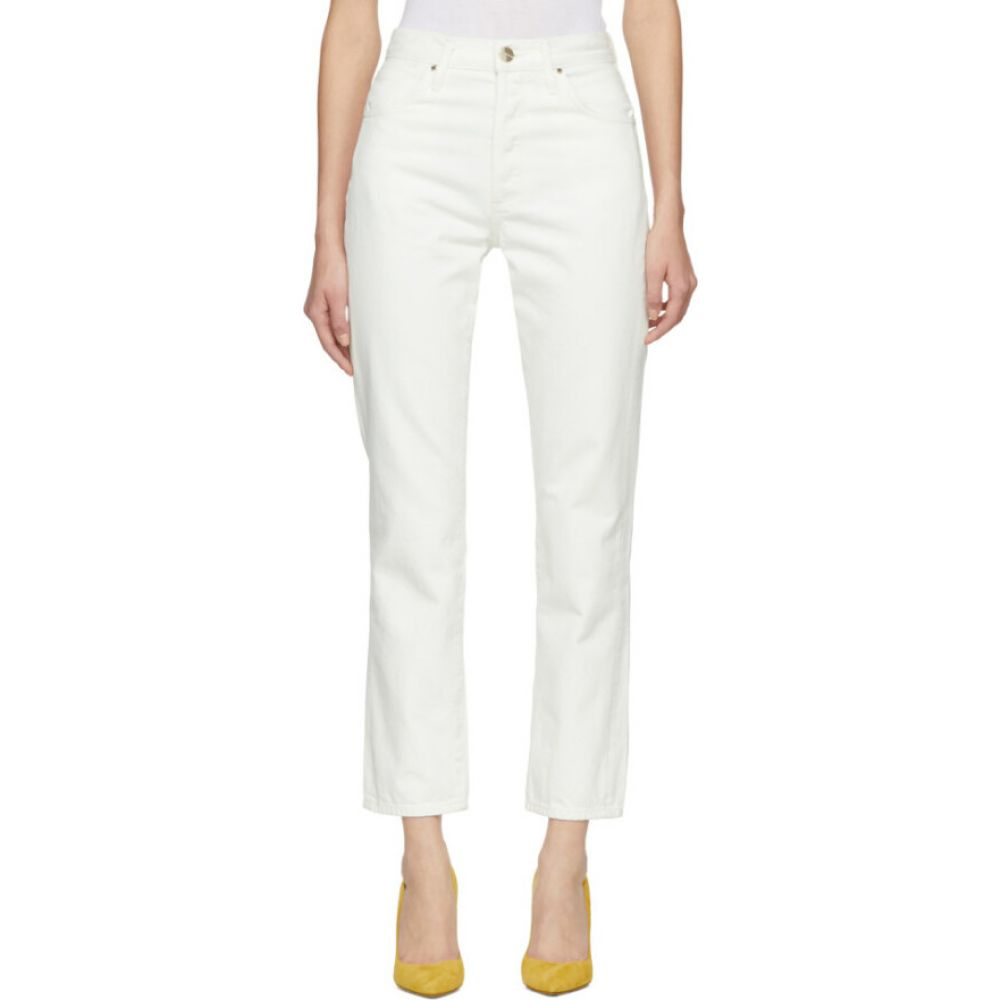 ゴールドサイン Goldsign レディース ジーンズ・デニム ボトムス・パンツ【off-white 'the benefit' jeans】