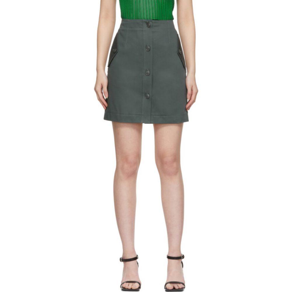 ジバンシー Givenchy レディース ミニスカート スカート【green military miniskirt】Army