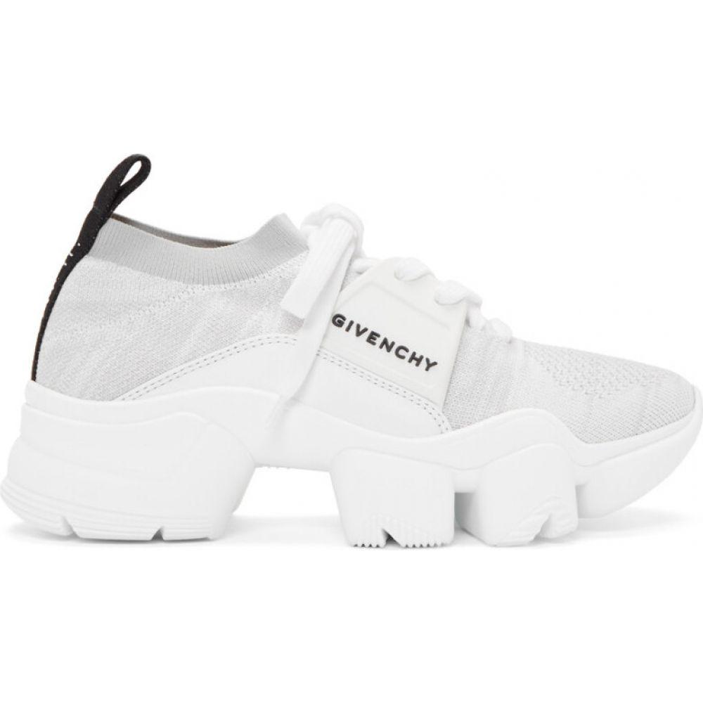 ジバンシー Givenchy レディース スニーカー シューズ・靴【white & grey jaw low sneakers】White