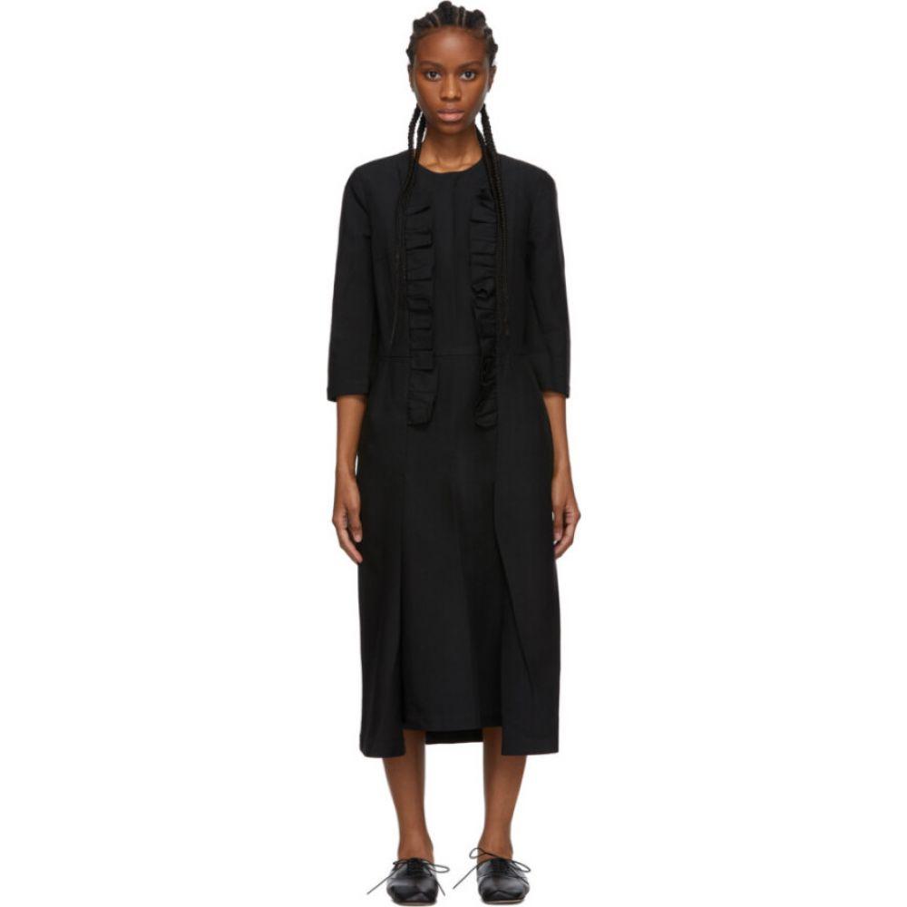 コム デ ギャルソン Comme des Garcons Comme des Garcons レディース ワンピース ワンピース・ドレス【black ruffle detail dress】Black