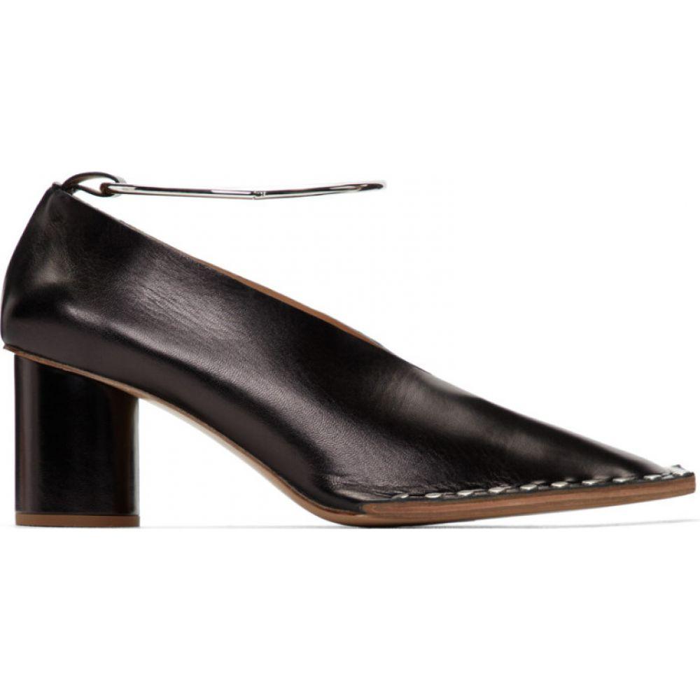 ジル サンダー Jil Sander レディース ヒール シューズ・靴【black stud detail heels】Black