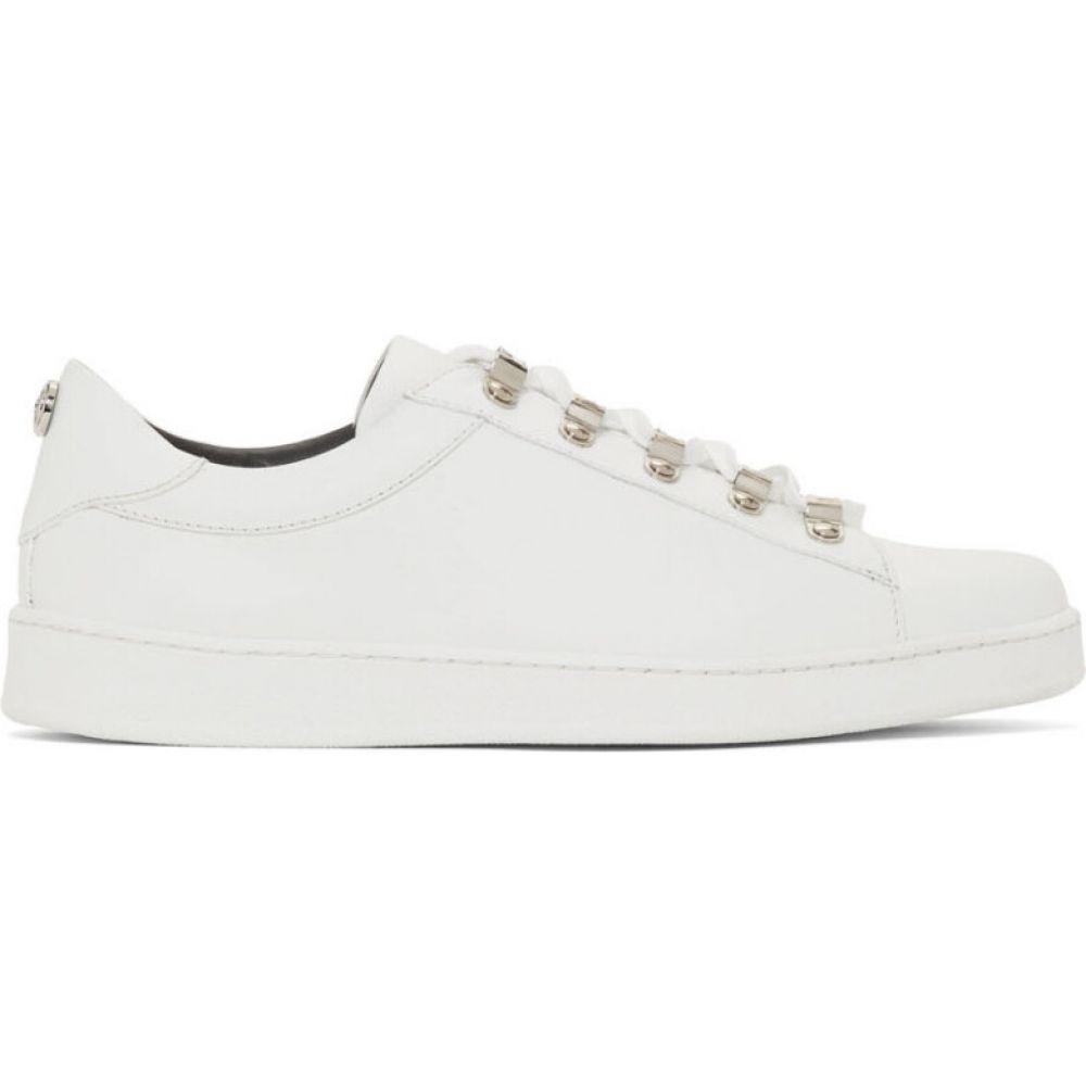 バルマン Balmain レディース スニーカー シューズ・靴【white stamped sneakers】White