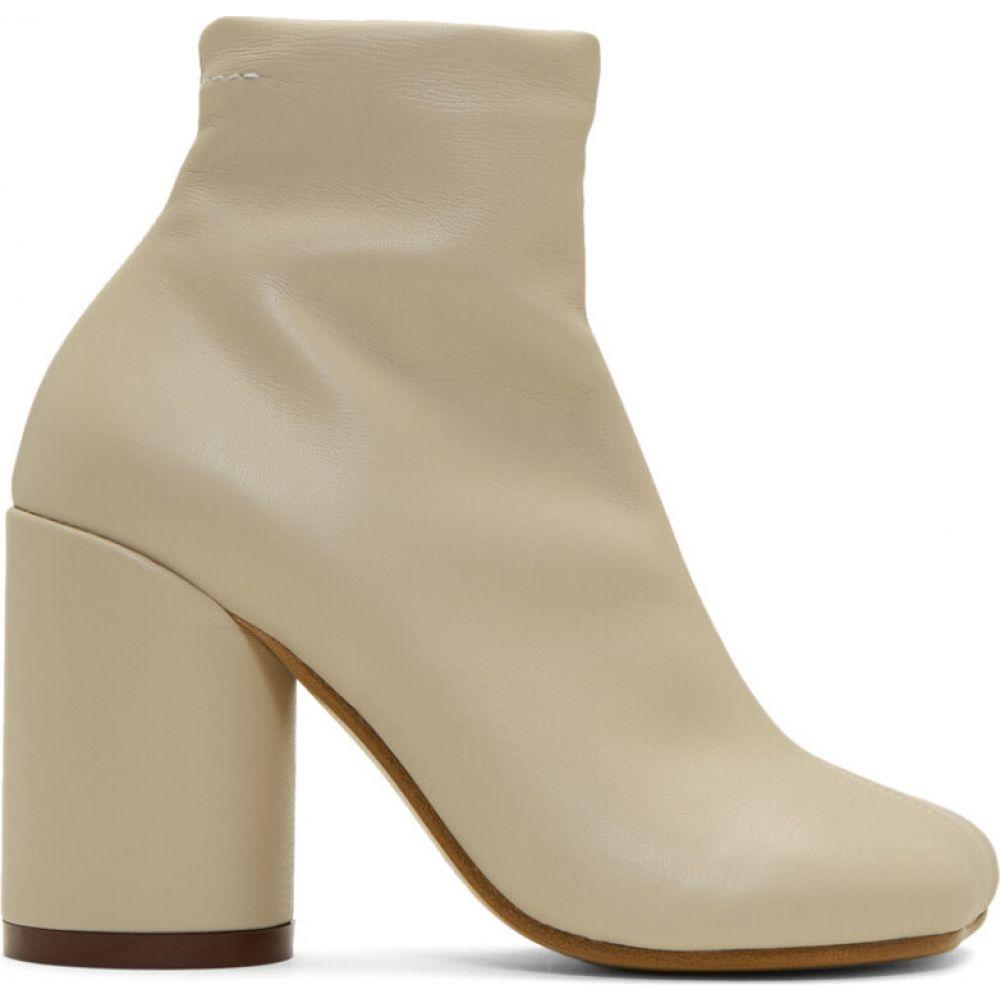 メゾン マルジェラ MM6 Maison Margiela レディース ブーツ シューズ・靴【beige foot boots】Natural