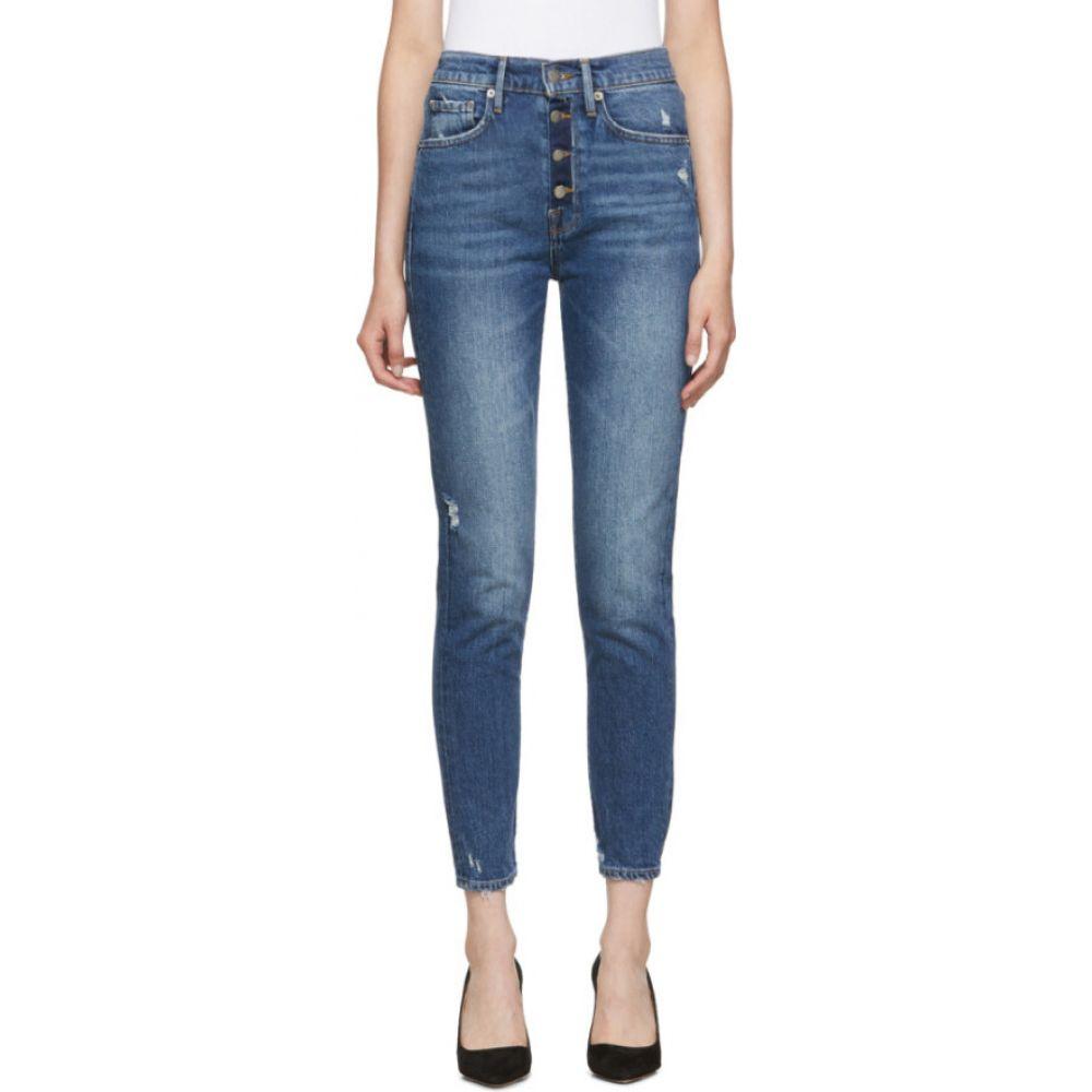 フレーム Frame レディース ジーンズ・デニム ボトムス・パンツ【blue 'le original skinny' jeans】Monterey