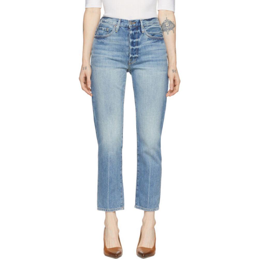フレーム Frame レディース ジーンズ・デニム ボトムス・パンツ【blue 'le original' jeans】Glacier