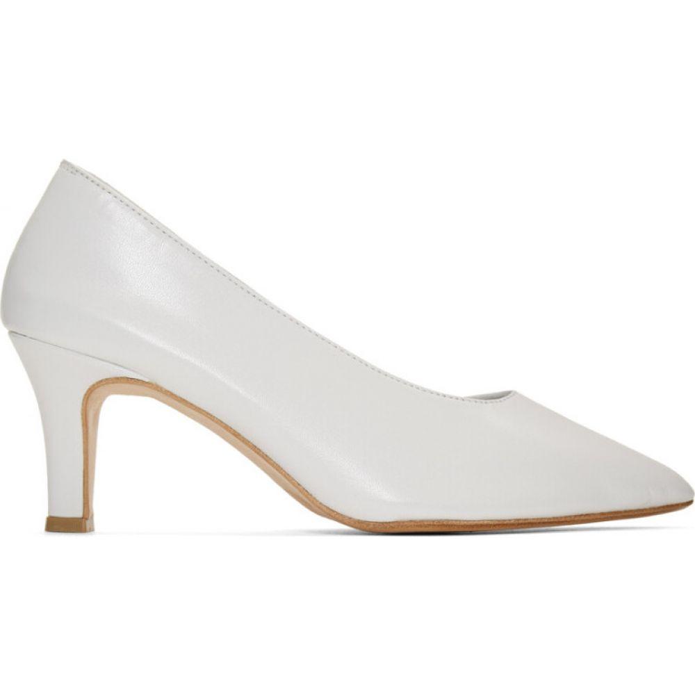 マルティニアーノ Martiniano レディース ヒール シューズ・靴【white party heels】White