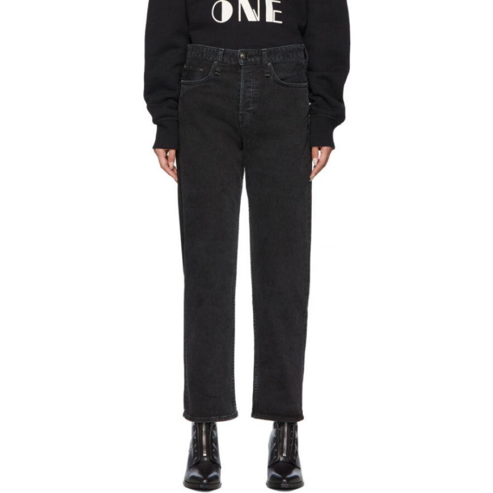 ラグ&ボーン rag & bone レディース ジーンズ・デニム ボトムス・パンツ【black maya high-rise ankle straight jeans】Vintage black