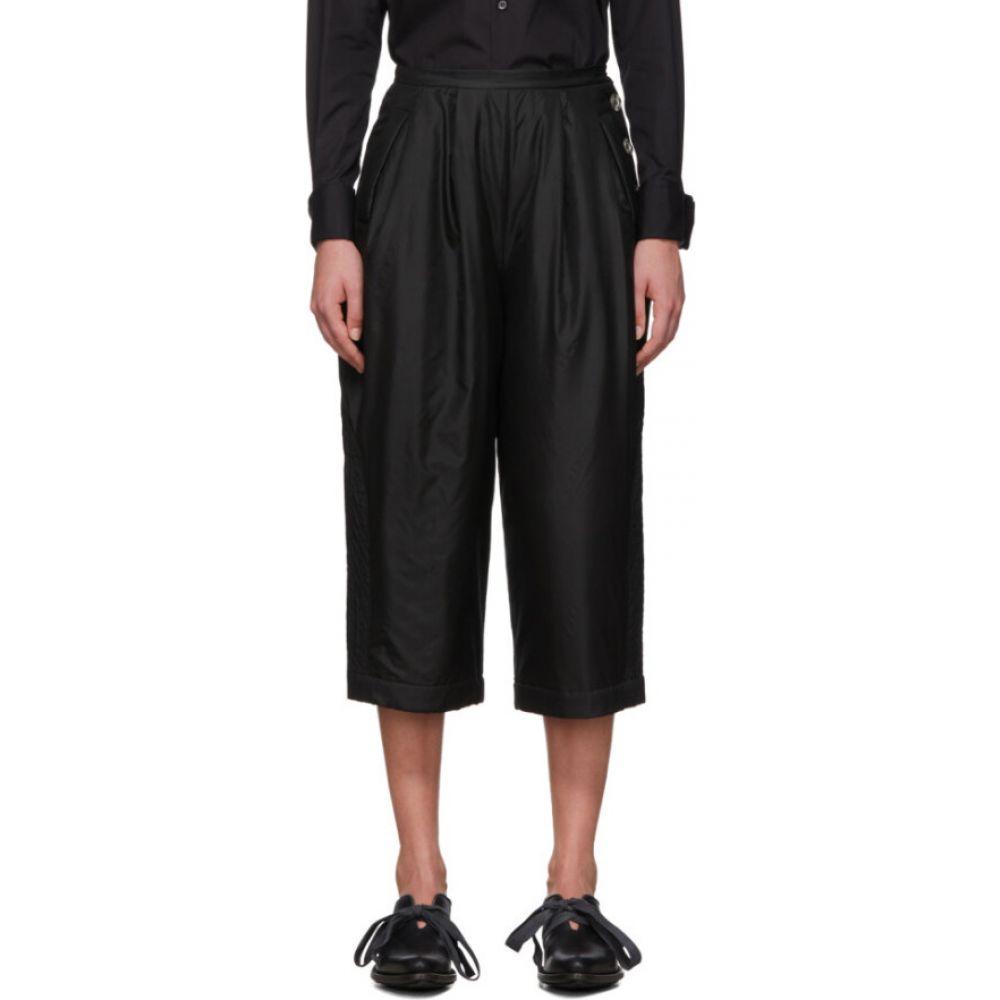 レンリ スー Renli Su レディース ボトムス・パンツ 【black mulberry silk trousers】Black