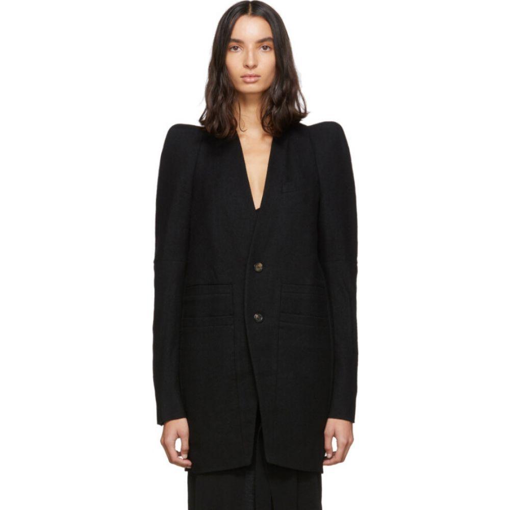 リック オウエンス Rick Owens レディース コート アウター【black zionic tailored coat】Black