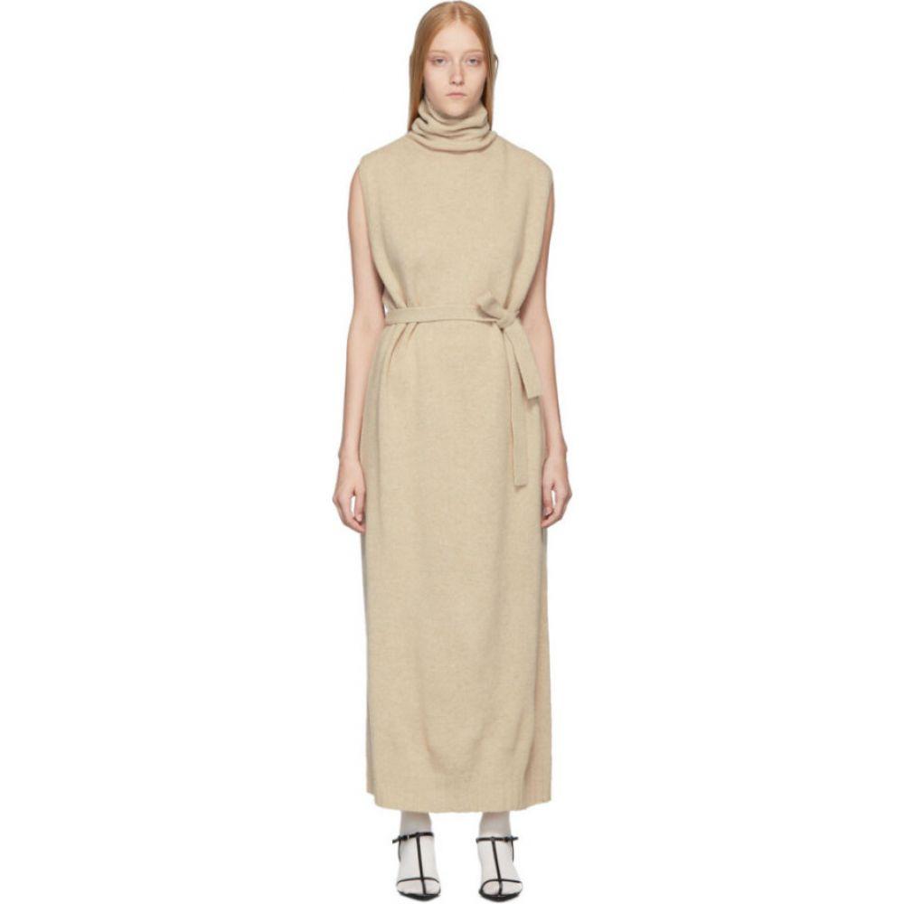 ルメール Lemaire レディース ワンピース ワンピース・ドレス【beige tube dress】Oatmeal