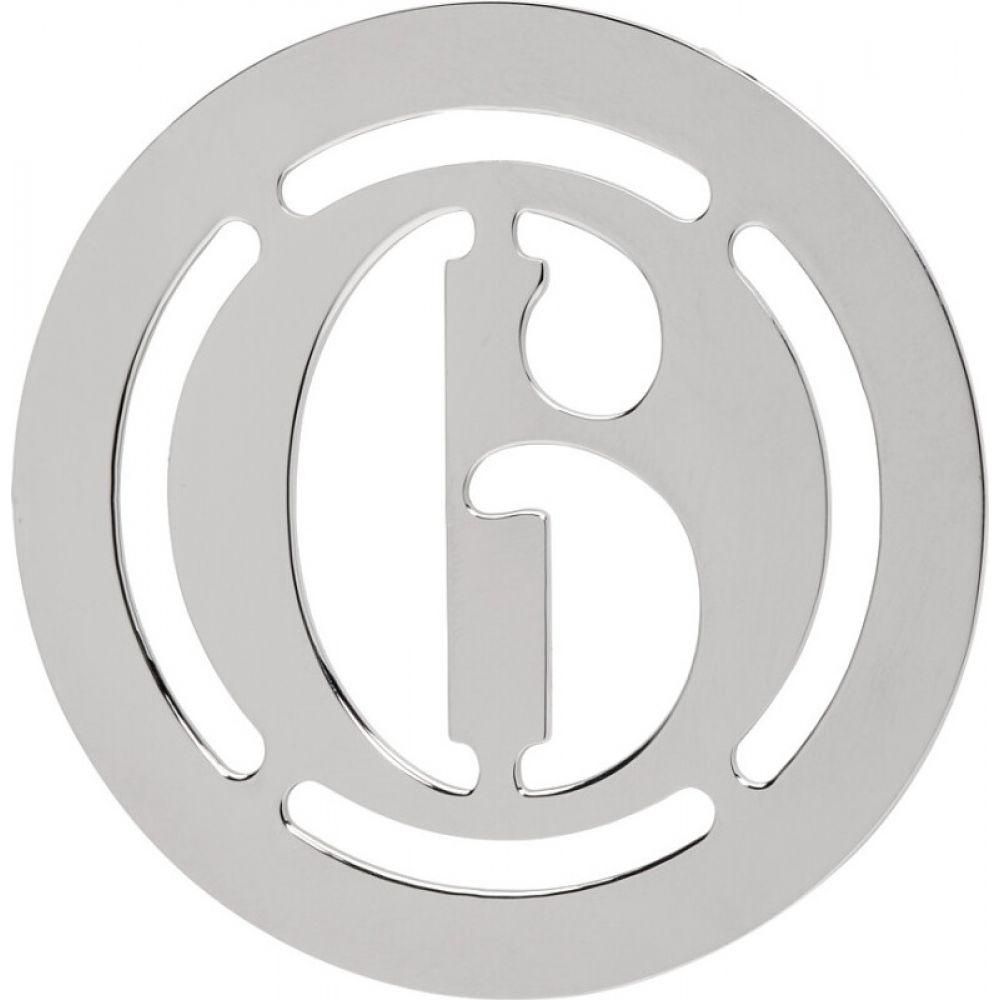 メゾン マルジェラ MM6 Maison Margiela レディース イヤリング・ピアス ジュエリー・アクセサリー【Silver Logo Earring】Silver:フェルマート