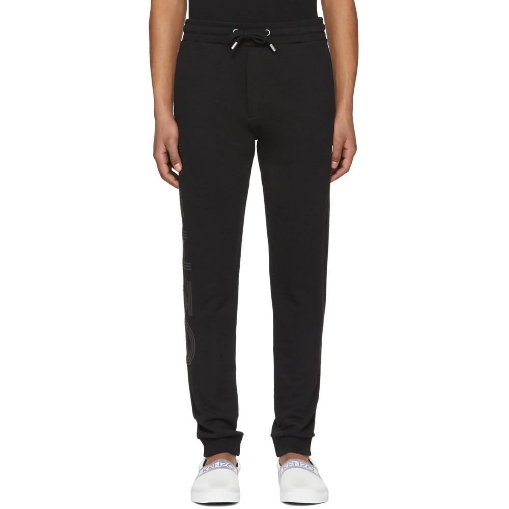 ケンゾー メンズ ボトムス・パンツ スウェット・ジャージ【Black Logo Jogpant Lounge Pants】