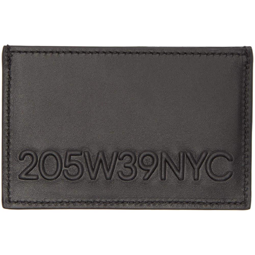 カルバンクライン メンズ カードケース・名刺入れ【Black Embossed Logo Card Holder】