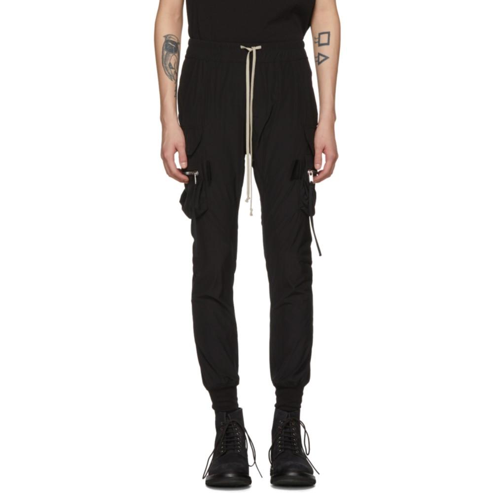 リック オウエンス メンズ ボトムス・パンツ カーゴパンツ【Black Jog Cargo Pants】