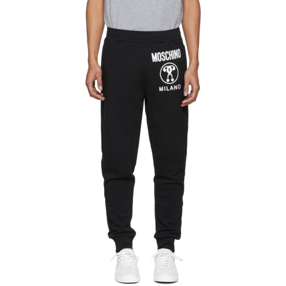 モスキーノ メンズ ボトムス・パンツ スウェット・ジャージ【Black Logo Lounge Pants】
