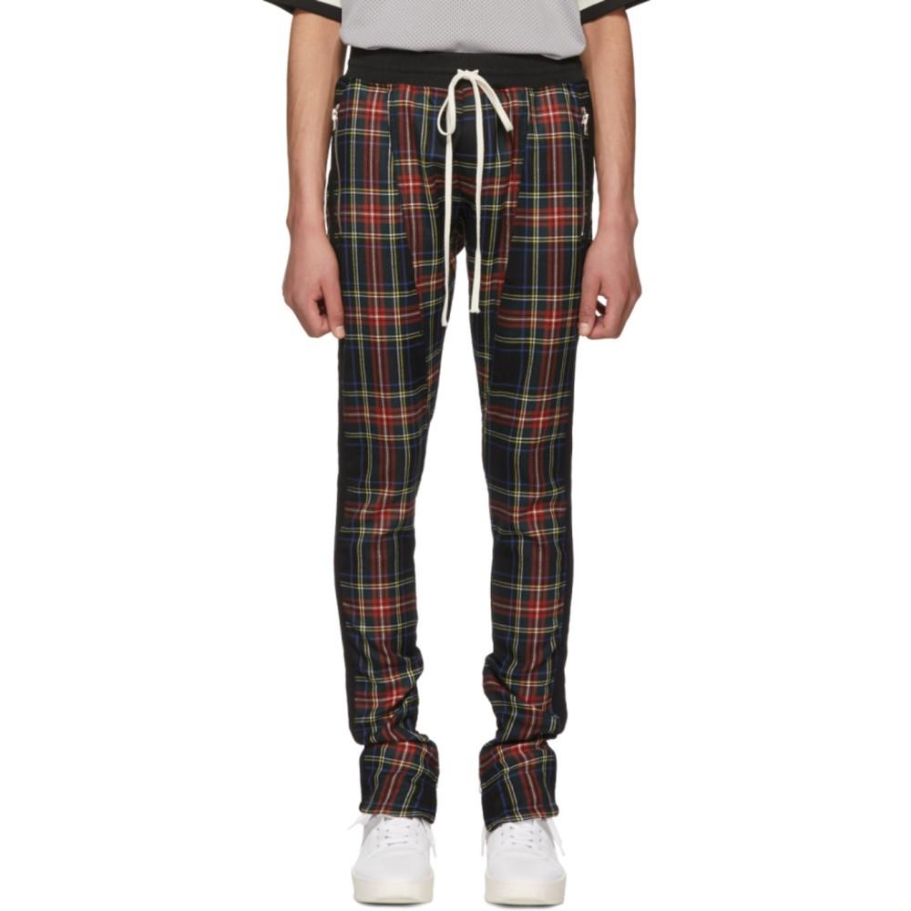 フィアオブゴッド メンズ ボトムス・パンツ【Multicolor Wool Plaid Trousers】