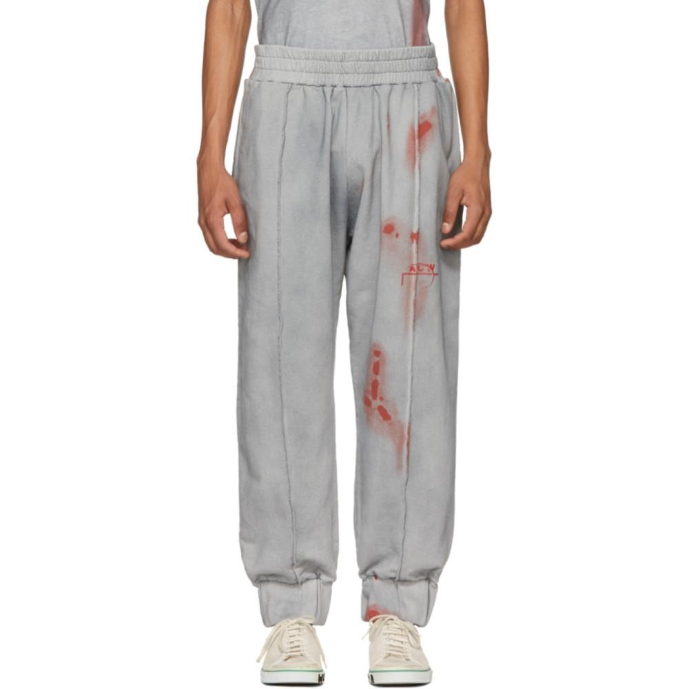 アコールドウォール メンズ ボトムス・パンツ スウェット・ジャージ【Grey & Red T2 Sweatpants】