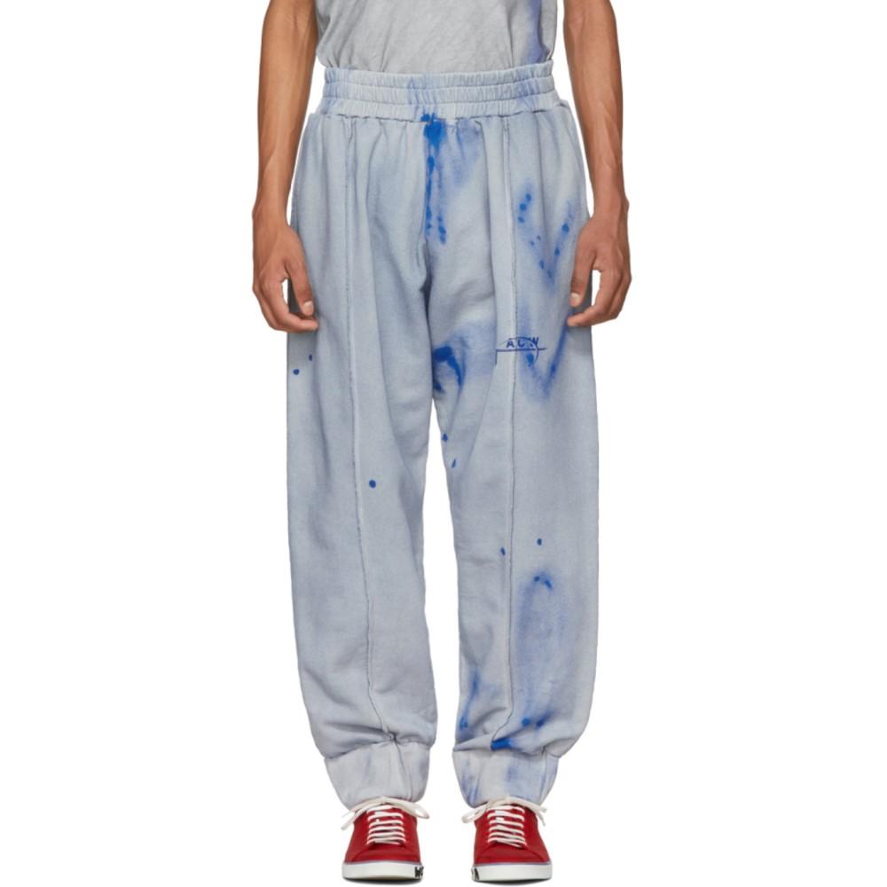 アコールドウォール メンズ ボトムス・パンツ スウェット・ジャージ【Grey & Blue T3 Sweatpants】