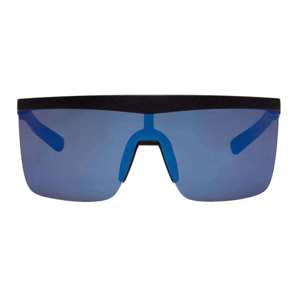 マイキータ レディース メガネ・サングラス【SSENSE Exclusive Black Trust Shield Sunglasses】