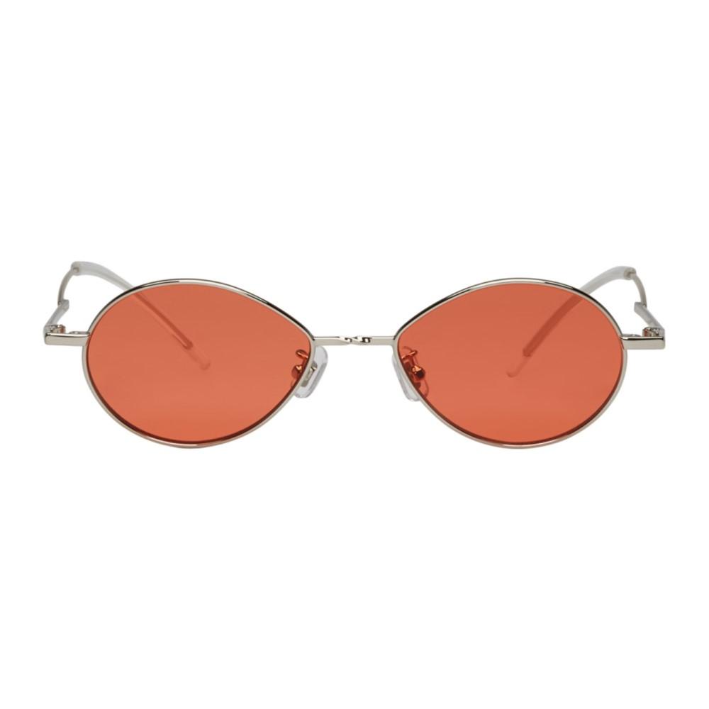 ジェントルモンスター メンズ メガネ・サングラス【Silver & Orange Cobalt Sunglasses】