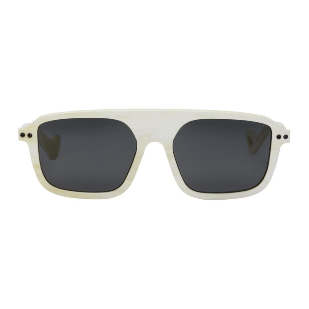 ブライザック メンズ スポーツサングラス【SSENSE Exclusive White Horn Sport Collection Sunglasses】