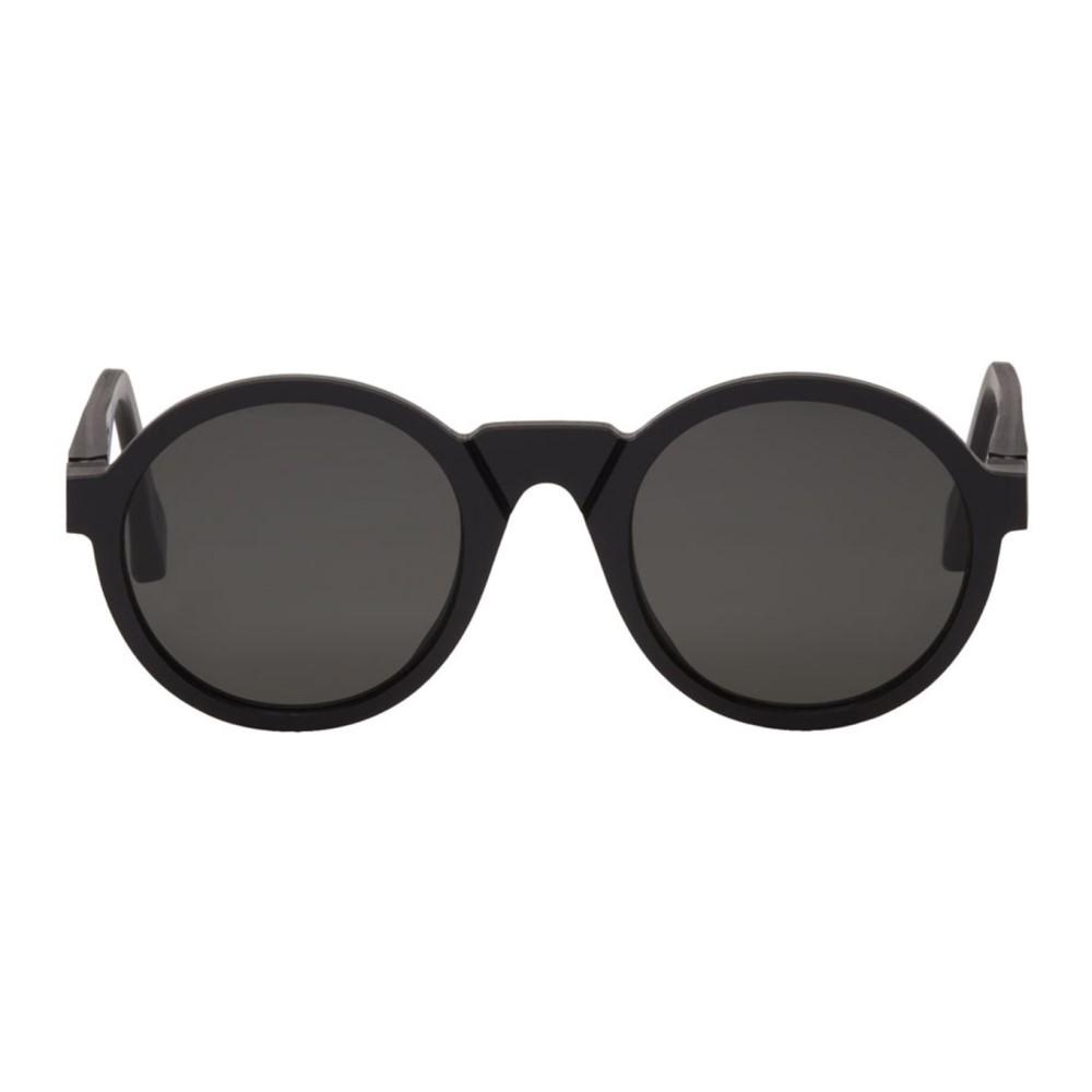 メゾン マルジェラ メンズ メガネ・サングラス【Black Mykita Edition MMRAW006 Sunglasses】