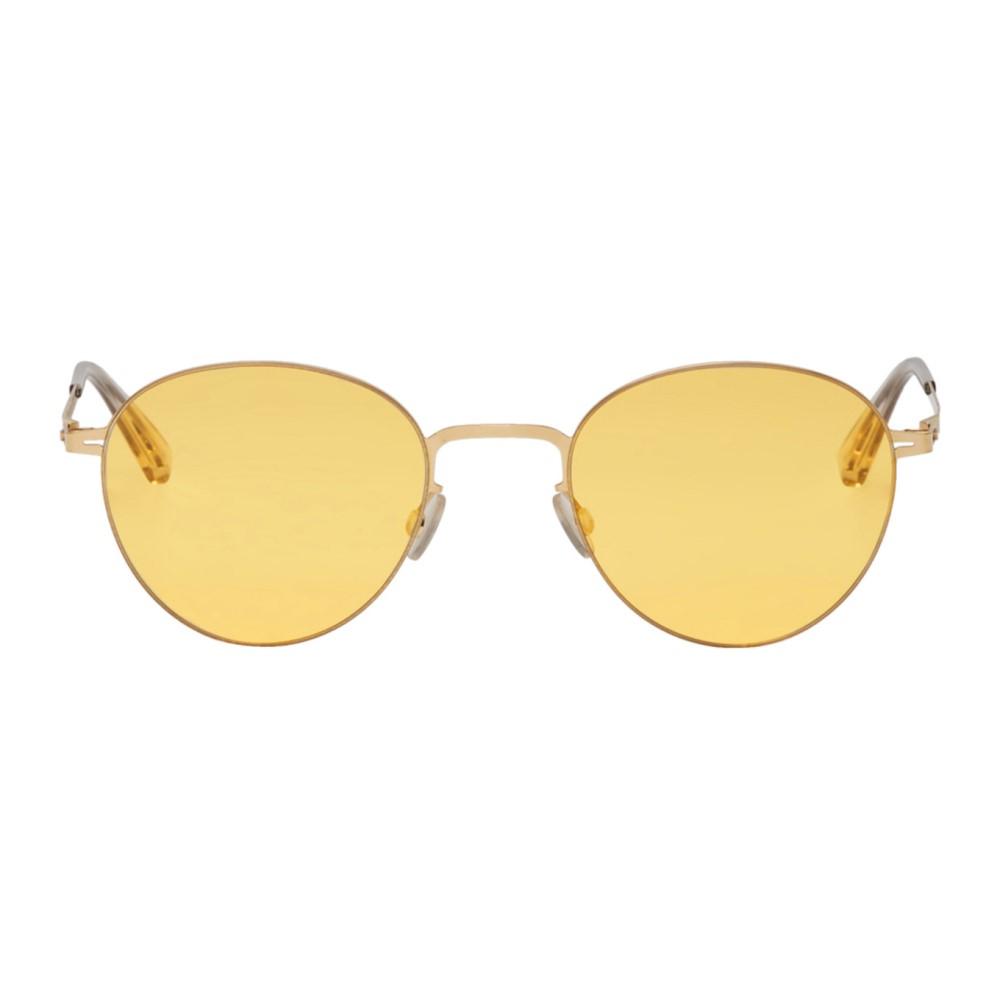 マイキータ メンズ メガネ・サングラス【Gold Eito Sunglasses】