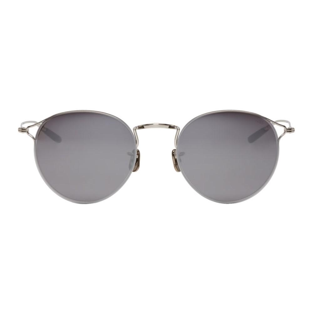 アイヴァン メンズ メガネ・サングラス【Silver 'Model 747' Sunglasses】