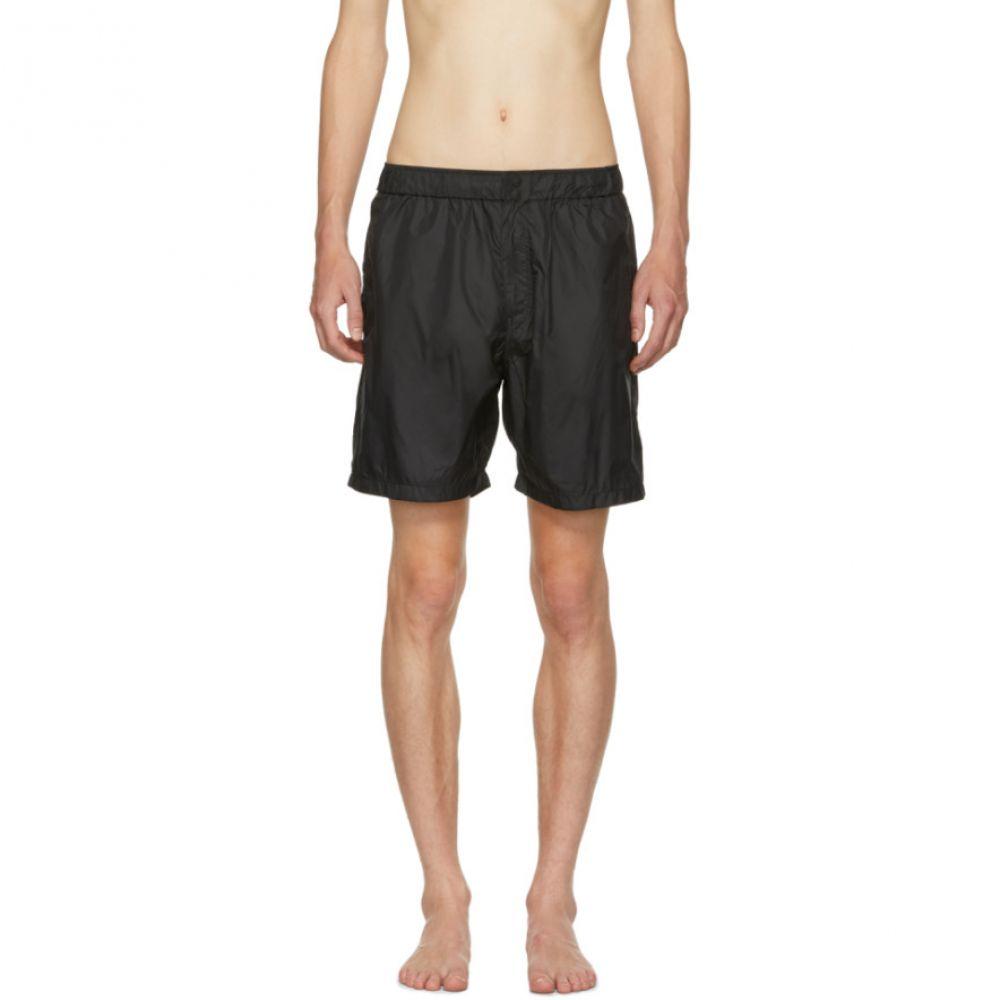 サタデーニューヨーク メンズ 水着・ビーチウェア 海パン【Black Trent Solid Swim Shorts】