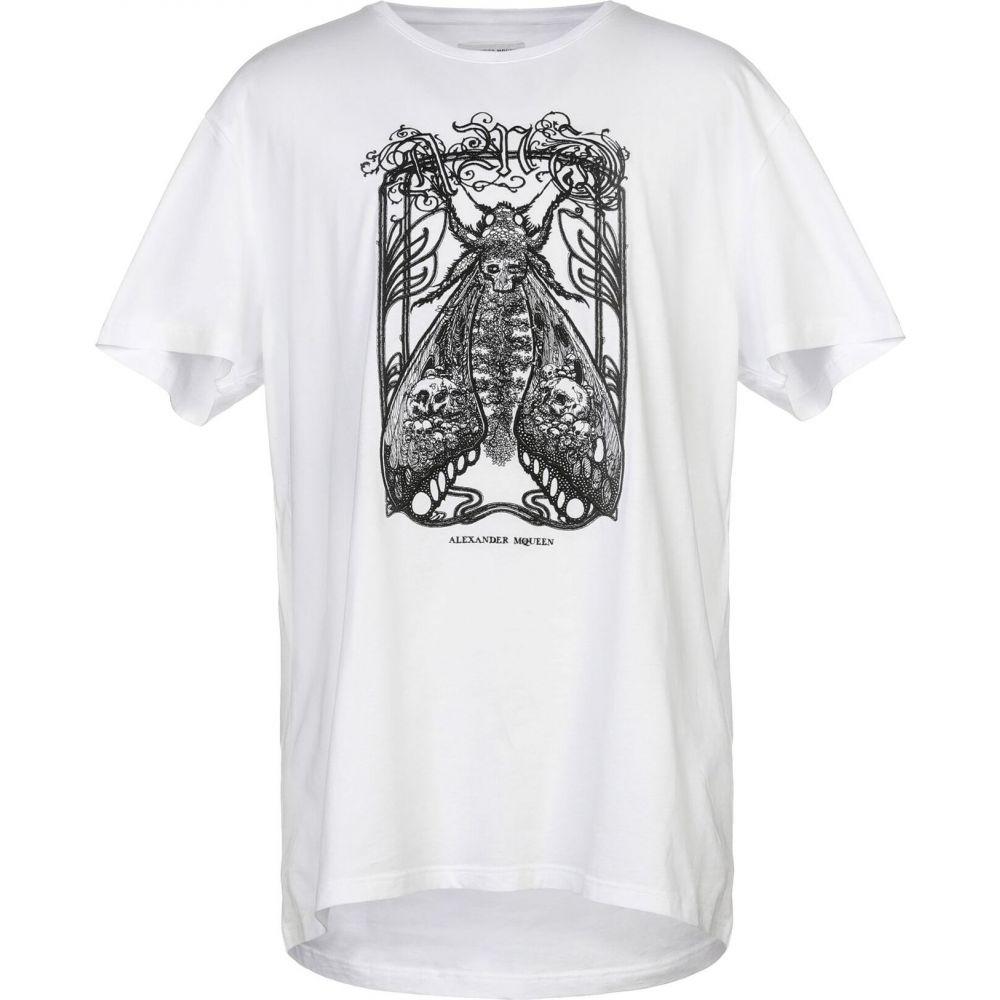 アレキサンダー マックイーン ALEXANDER MCQUEEN メンズ Tシャツ トップス【t-shirt】White